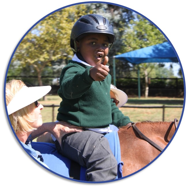 Therapy Riding Icon Home page